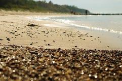 Χαλίκια στην παραλία 1 Στοκ εικόνα με δικαίωμα ελεύθερης χρήσης