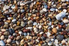 Χαλίκια στην παραλία Στοκ εικόνα με δικαίωμα ελεύθερης χρήσης