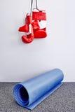 χαλί άσκησης Στοκ φωτογραφίες με δικαίωμα ελεύθερης χρήσης