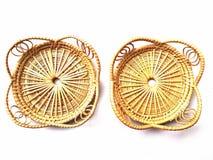 Χαλί γυαλιού φιαγμένο από ινδικό κάλαμο Στοκ φωτογραφία με δικαίωμα ελεύθερης χρήσης