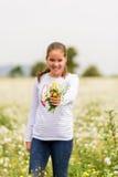 Χαλαρωμένο κορίτσι 12 Στοκ Εικόνες