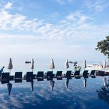 Χαλαρώστε και απολαύστε τις διακοπές σας Στοκ Εικόνες