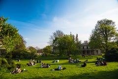 Χαλαρώστε σε βασιλικό Pavillon Στοκ Εικόνες