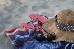 Χαλαρώστε στην παραλία στοκ εικόνες