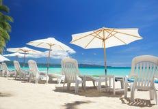 Χαλαρώστε την περιοχή στην παραλία Στοκ φωτογραφία με δικαίωμα ελεύθερης χρήσης
