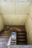 Χαλασμένα παλαιά σκαλοπάτια Στοκ φωτογραφία με δικαίωμα ελεύθερης χρήσης