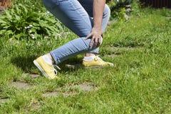 Χαλασμένες γυναίκες μυών ποδιών Στοκ φωτογραφίες με δικαίωμα ελεύθερης χρήσης