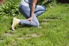 Χαλασμένες γυναίκες μυών ποδιών Στοκ φωτογραφία με δικαίωμα ελεύθερης χρήσης