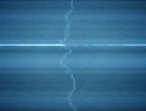 Χαλασμένος βρόχος υποβάθρου TV στατικός με παχύ Scanlines ελεύθερη απεικόνιση δικαιώματος
