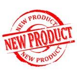 Χαλασμένος γύρω από το κόκκινο γραμματόσημο με τη λέξη - νέο προϊόν - διάνυσμα Στοκ φωτογραφία με δικαίωμα ελεύθερης χρήσης