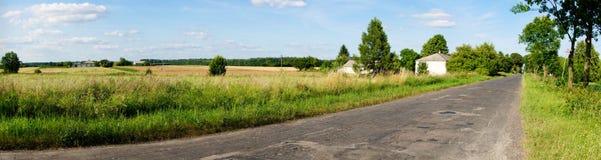Χαλασμένος δρόμος Στοκ Εικόνες