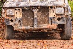 Χαλασμένο συντριβή αυτοκίνητο ατυχήματος στοκ φωτογραφίες με δικαίωμα ελεύθερης χρήσης
