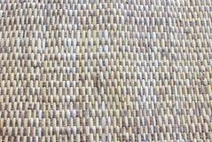 Χαλιά που υφαίνονται από τον ινδικό κάλαμο Στοκ φωτογραφία με δικαίωμα ελεύθερης χρήσης
