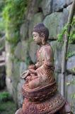 χαλκός Βούδας Στοκ Φωτογραφία