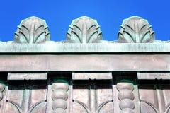 Χαλκός του Art Deco Στοκ φωτογραφία με δικαίωμα ελεύθερης χρήσης