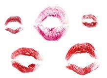 χείλια που τίθενται Στοκ φωτογραφία με δικαίωμα ελεύθερης χρήσης