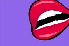 χείλια Στοκ Εικόνες