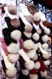 Χειμερινά καπέλα Στοκ Φωτογραφίες