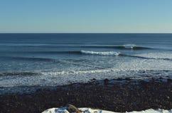 Χειμερινά κύματα στοκ εικόνες