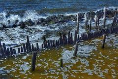 Χειμερινά κύματα Στοκ φωτογραφία με δικαίωμα ελεύθερης χρήσης