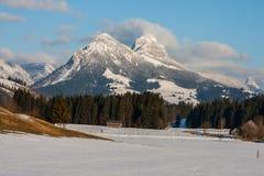 Χειμερινές Άλπεις Στοκ φωτογραφία με δικαίωμα ελεύθερης χρήσης