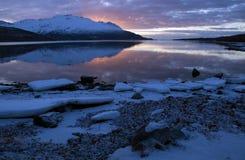 Χειμερινές αντανακλάσεις Στοκ Φωτογραφία