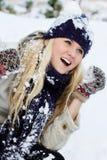 χειμερινές γυναίκες Στοκ Εικόνα