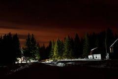Χειμερινές διακοπές στο εθνικό πάρκο Zyuratkul Περιοχή Chelyabinsk Ρωσία στοκ εικόνες
