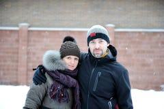 χειμερινές νεολαίες πο&rh Στοκ Εικόνες
