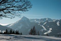 Χειμερινή άποψη στην Αυστρία Στοκ εικόνες με δικαίωμα ελεύθερης χρήσης