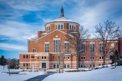 Χειμερινή άποψη της εθνικής λάρνακας Αγίου Elizabeth Ann Seton Στοκ Εικόνες