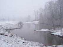 Χειμερινή ήρεμη ομορφιά Στοκ Εικόνες