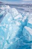 Χειμερινή λίμνη Baikal στοκ εικόνα