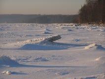 Χειμερινή ακτή Στοκ φωτογραφίες με δικαίωμα ελεύθερης χρήσης