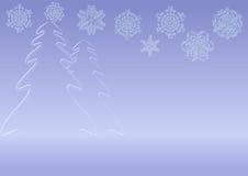 Χειμερινή ανασκόπηση Στοκ Εικόνες