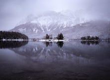 Χειμερινή αντανάκλαση στοκ εικόνες με δικαίωμα ελεύθερης χρήσης