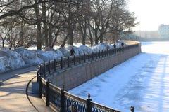 Χειμερινή αποβάθρα Στοκ Φωτογραφία