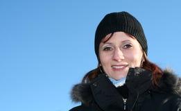 χειμερινή γυναίκα Στοκ Φωτογραφία