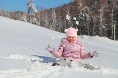 Χειμερινή διασκέδαση στοκ εικόνα με δικαίωμα ελεύθερης χρήσης