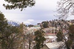 Χειμερινή εποχή σε Murree, Πακιστάν στοκ εικόνες με δικαίωμα ελεύθερης χρήσης