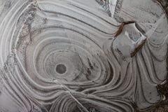 Χειμερινή ζωγραφική στο νερό Στοκ εικόνα με δικαίωμα ελεύθερης χρήσης