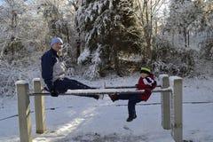Χειμερινή διασκέδαση Στοκ φωτογραφίες με δικαίωμα ελεύθερης χρήσης