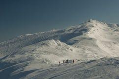 Χειμερινή κορυφή Στοκ εικόνες με δικαίωμα ελεύθερης χρήσης