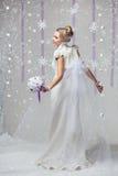 Χειμερινή νύφη στοκ φωτογραφίες