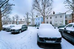 Χειμερινή οδός, Λονδίνο - Αγγλία στοκ εικόνες με δικαίωμα ελεύθερης χρήσης