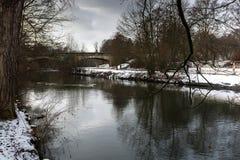 Χειμερινή πόλη Στοκ Φωτογραφία