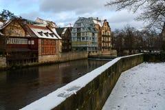 Χειμερινή πόλη Στοκ φωτογραφίες με δικαίωμα ελεύθερης χρήσης