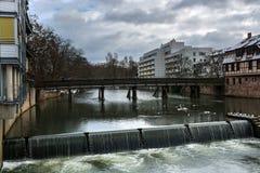 Χειμερινή πόλη Στοκ φωτογραφία με δικαίωμα ελεύθερης χρήσης