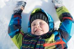 Χειμερινή δραστηριότητα Στοκ Εικόνες