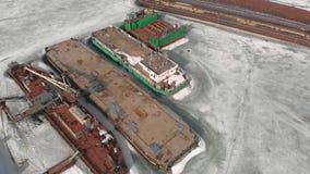 Χειμερινή στάση των λογιστικών σκαφών, εναέρια μαγνητοσκόπηση φιλμ μικρού μήκους